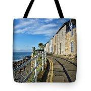 Terraced Cottages At Mousehole Tote Bag
