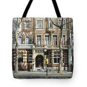 Terraced Houses In Kensington Tote Bag