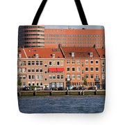 Terraced Houses In Rotterdam City Centre Tote Bag