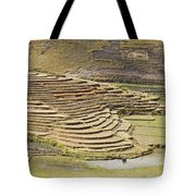 Terraces And Paddy Fields Tote Bag