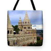 Terraces And Towers Of Fishermans Bastion Tote Bag
