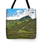 Terraces Of Machu Picchu-peru Tote Bag