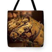 Terracotta Horses Tote Bag