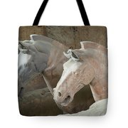 Terracotta Warrior Horses, China Tote Bag