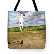 Terrier Ball Ballet Tote Bag