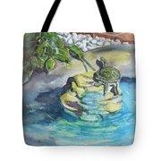 Terrific Turtle Tote Bag