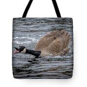 Territorial Canadian Goose Tote Bag