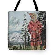 Terry The Mountain Man Tote Bag