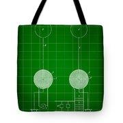 Tesla Electric Transmission Patent 1900 - Green Tote Bag