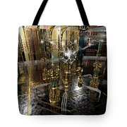 Tesla Power Generator Tote Bag by James Christopher Hill