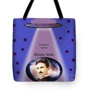 Tesla The Gorgeous Genius Tote Bag