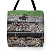 Switch Tracks Tote Bag