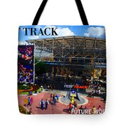 Test Track Opening 1999 Tote Bag