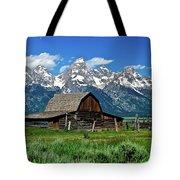 Teton Barn Tote Bag