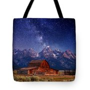 Teton Nights Tote Bag by Darren  White