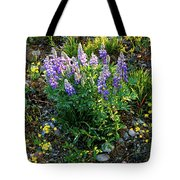 Teton Widflowers  Tote Bag