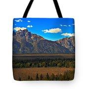 Tetons Mountians Tote Bag