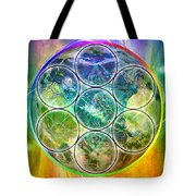 Tetra64 Polarity Earth Tote Bag