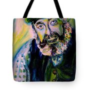 Tevye Fiddler On The Roof Tote Bag