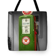 Texaco Gas Pump Tote Bag