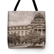 Texas A And M Academic Plaza - College Station Texas Tote Bag