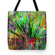 Texas Agave Pee Wee Plant Tote Bag