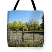 Texas Bluebonnet Lupine Pature Tote Bag