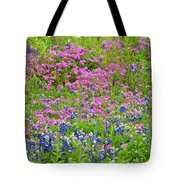 Texas Bluebonnets And Wildflowers Tote Bag