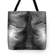 Texas Boots Portrait - Bw 01 Tote Bag