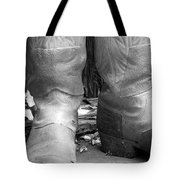 Texas Boots Portrait - Bw 02 Tote Bag