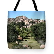 Texas Canyon Landscape Tote Bag