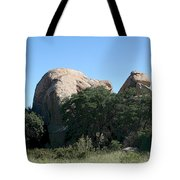 Texas Canyon Megaliths  Tote Bag