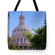 Texas Capital Dome Tote Bag