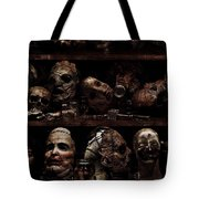 Texas Chainsaw 3d Faces Tote Bag