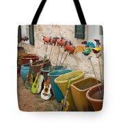 Fredericksburg Texas Alleyway Vendor Tote Bag
