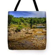 Texas Hill Country Stream Tote Bag by David and Carol Kelly