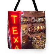 Texas In Lights Tote Bag