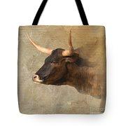 Texas Longhorn # 3 Tote Bag
