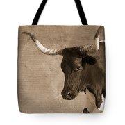 Texas Longhorn #6 Tote Bag