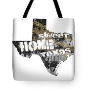 Texas Map Cool Tote Bag