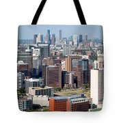 Texas Medical Center In Houston Tote Bag