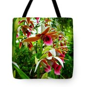 Texas Orchids Tote Bag