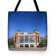 Texas Rangers Ballpark In Arlington Tote Bag