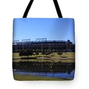Texas Rangers Reflection Tote Bag