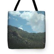 Texas Rock Mountian Tote Bag
