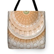 Texas State Building Dome Tote Bag