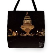 Texas State Capital Tote Bag