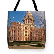 Texas State Capitol Building Tote Bag