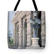 Texas State Capitol North Portico Tote Bag