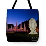 Texas Tech University Seal And Blue Sky Tote Bag